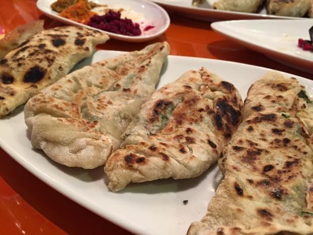 Jingalov Hats - a traditional Armenian dish
