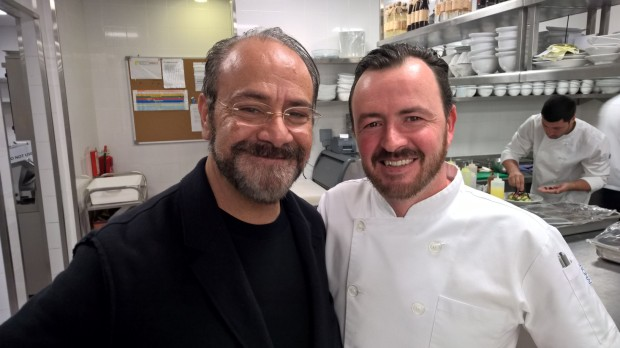 Troy with Chef Greg Malouf