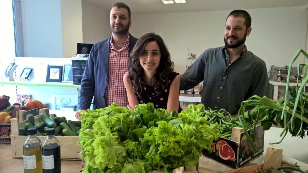 The Farm House Team: Mohamad el Chehimi, Constance Kabban and Bob el Chehimi