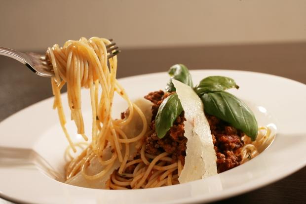 Spaghetti Bolognaise at Luigi's