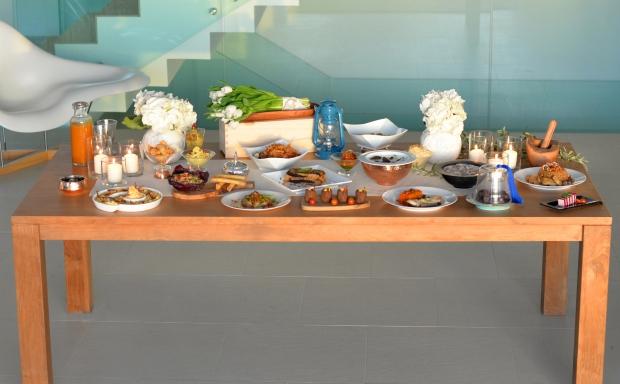 Ramadan Menu - Table Set up