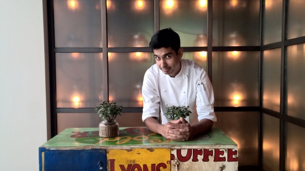 Chef Nigel Lobo