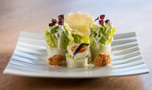 Sheraton Grand Hotel, Dubai - Ceaser Salad