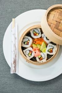 Sushi platter at Dawn & Dusk