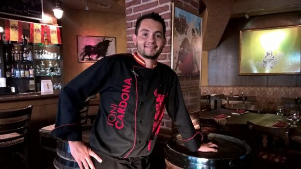 Chef Antoni Morales