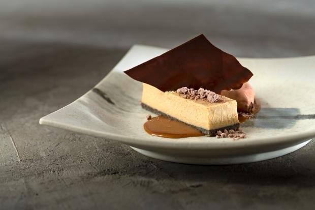 Caramel Miso Cheesecake