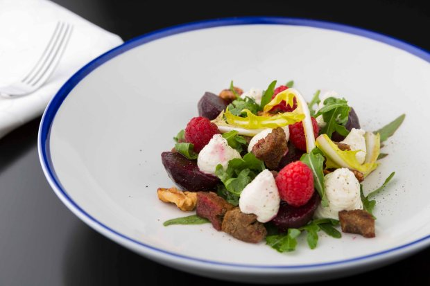 Beets and Goats Cheese salad