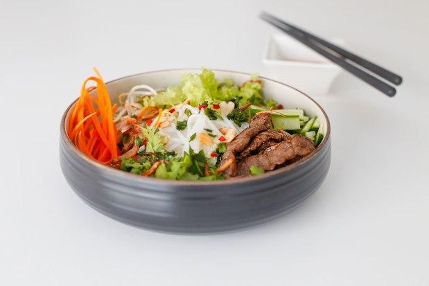 5 - VF - Bun Bo Nam Bo - (Bun with Beef Tenderoin Stir Fry) 38 AED