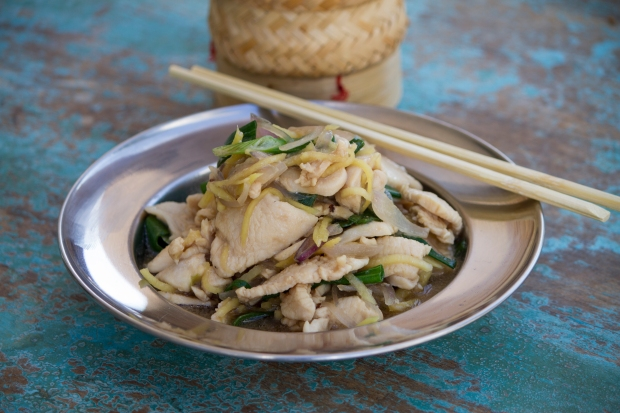 Gai-Pad_Khing_New Cafe Isan